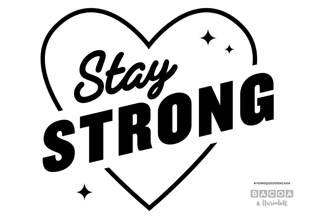 Plantilla 'Stay Strong'
